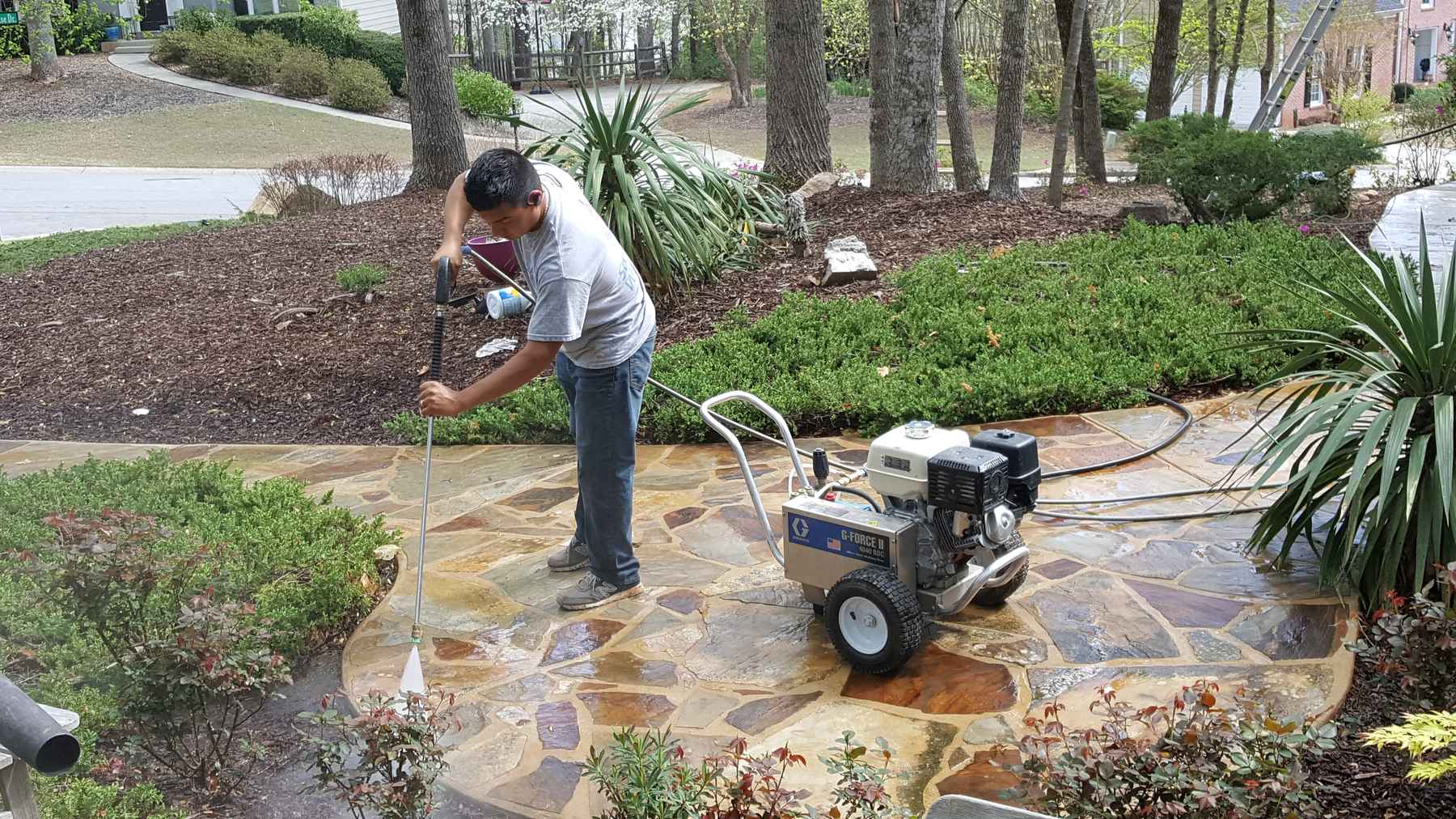 Power Washing - D.A.G. Painting - Woodstock, GA Home Painting u0026 Repair Services