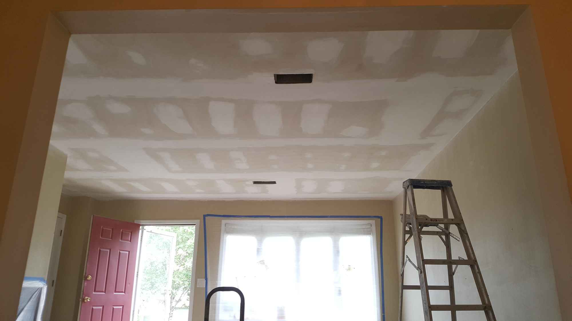 Popcorn Ceiling Removal 02