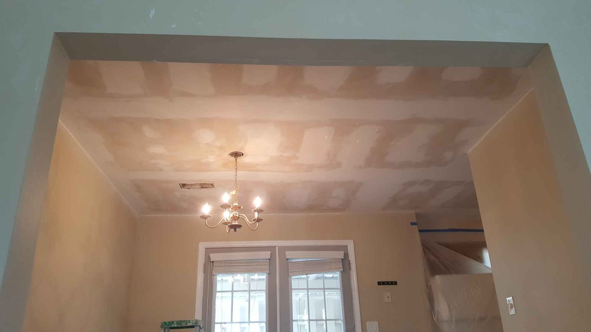 Popcorn Ceiling Removal 03