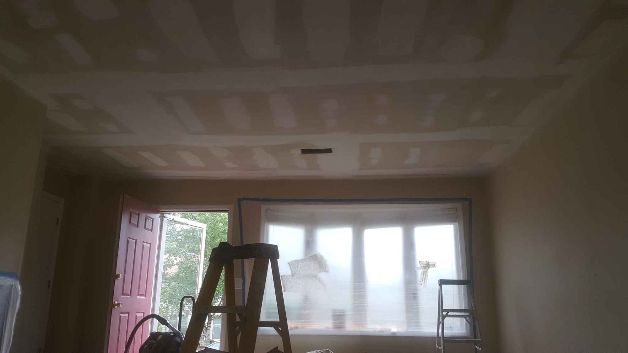 Popcorn Ceiling Removal 04