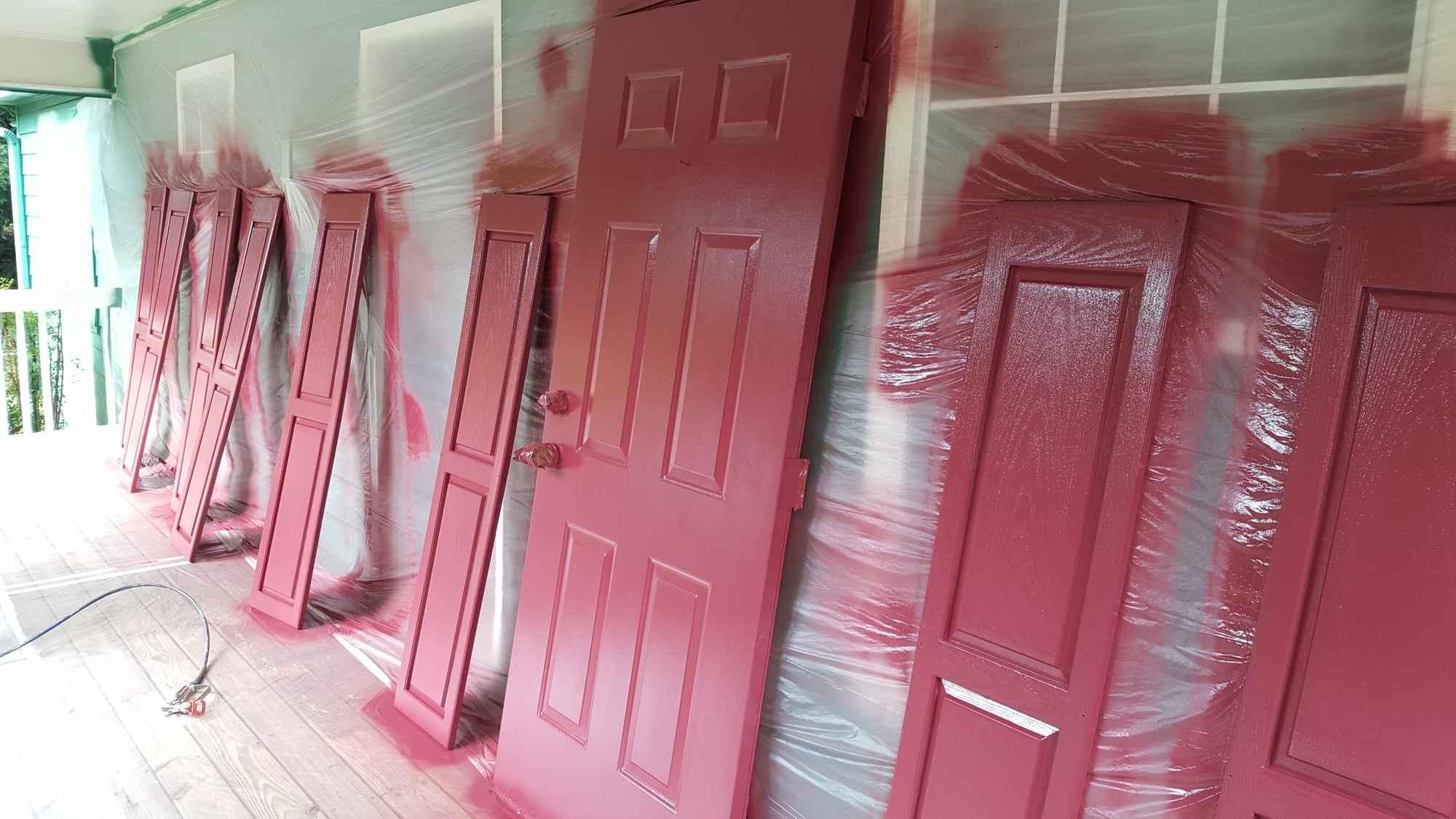 Exterior Painting - Doors