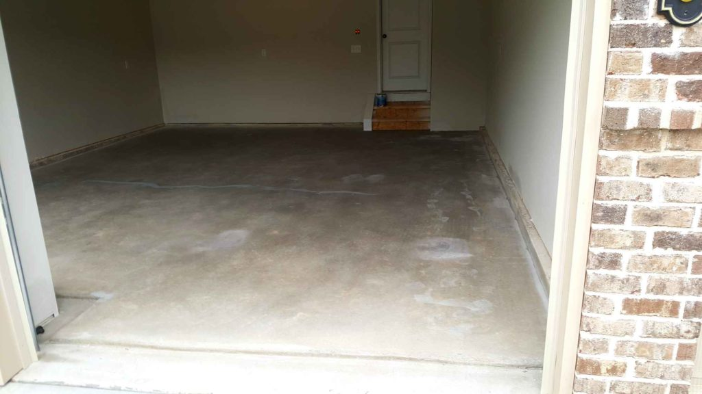 Garage Floor Epoxy Coating August 2017 D A G Painting