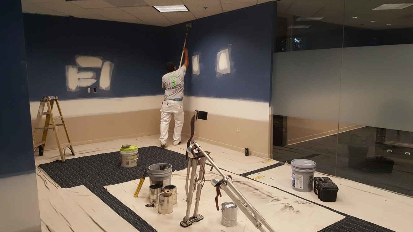 Office And Warehouse Painting August 2017 D A G